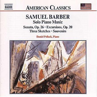 S. Barber - American Classics: Barber: Complete Published Solo Piano Music [CD] USA import