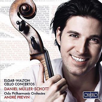 Elgar/Walton - Elgar, Walton: Cello Concertos [CD] USA import