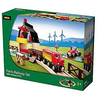 BRIO 33719 Farm Eisenbahn Set