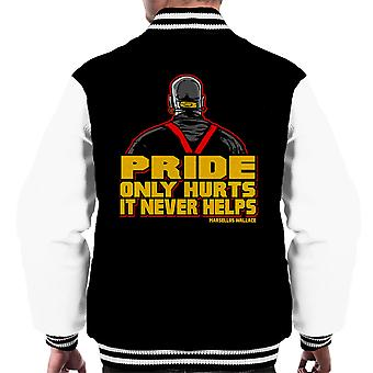 Die Kingpin Marsellus Wallace Pulp Fiction Männer Varsity Jacket