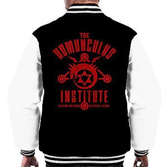 The Sins Of The Father Full Metal Alchemist Men's Varsity Jacket