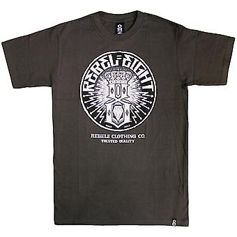 Rebel8 Sewer King T-shirt Charcoal