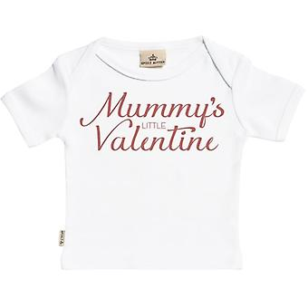 Spoilt Rotten Mummy's Little Valentine Short Sleeve Baby T-Shirt
