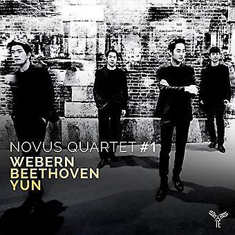 ノーバス カルテット - ウェーベルン ベートーヴェン ・ゆん [CD] USA 輸入による弦楽四重奏曲