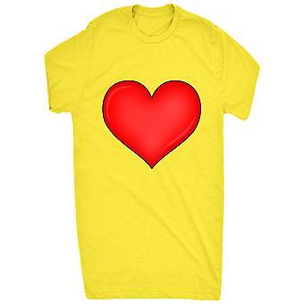 cuore d'amore rosso per le donne