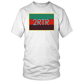 British Army 2 RTR Royal Tank Regiment TRF dzieci T Shirt