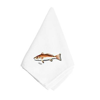 Carolines Treasures  8489NAP Red Fish Napkin