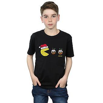 Pacman Boys Christmas Puddings T-Shirt