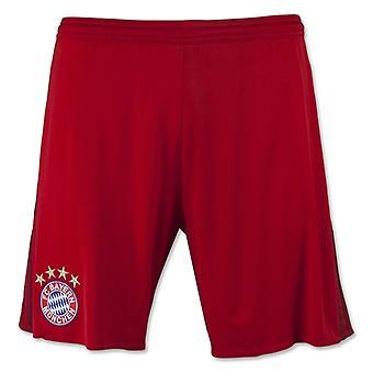 2015-2016 Bayern München Adidas Startseite Shorts (Red) - Kids