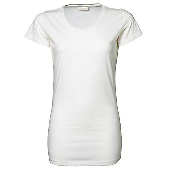 Tee Jays Ladies Stretch Extra Long Short Sleeve T-Shirt