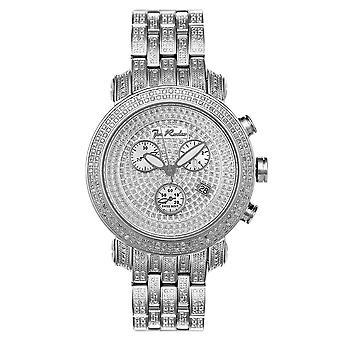 Joe Rodeo diamond mężczyzn watch - CLASSIC Silver 3,75 ctw