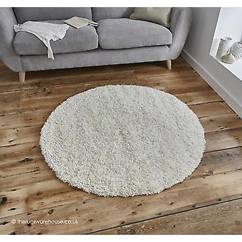 Vista crème cirkel tapijt