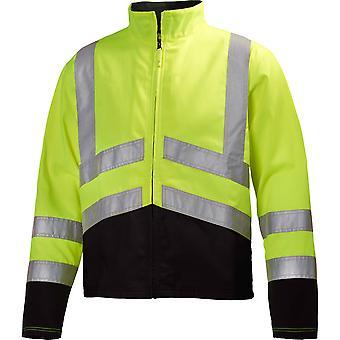 Helly Hansen Mens Alta Front Zip High-Vis Reflective Workwear Jacket