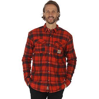 Regatta Mens Tyrus Coolweave katoen knop ingedrukt Shirt met lange mouwen