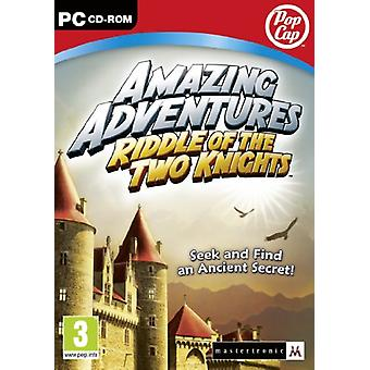 Amazing Adventures - Riddle of the Two Knights (PC DVD) - New