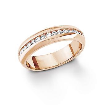 s. Oliver gioiello signore anello argento Rosato oro placcato cubic zirconia bianco SO1098