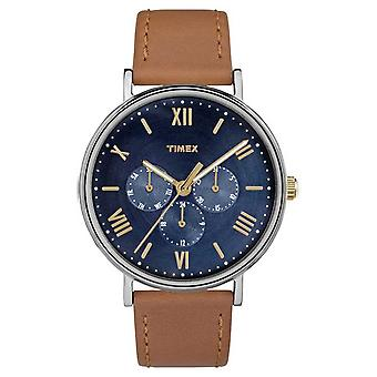 TW2R29100 brun montre chronographe multifonction Timex Mens Southview