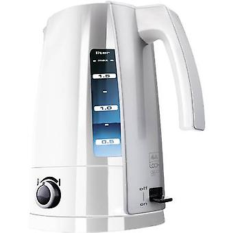 Melitta LOOK Aqua Vario ws-si Kettle with manual temperature settings White, Silver