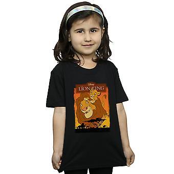 Disney Girls The Lion King Simba And Mufasa T-Shirt
