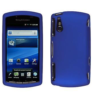 حلول لاسلكية لينة اللمس المفاجئة على حالة لسوني إريكسون اريكسون لعب 4G - الأزرق