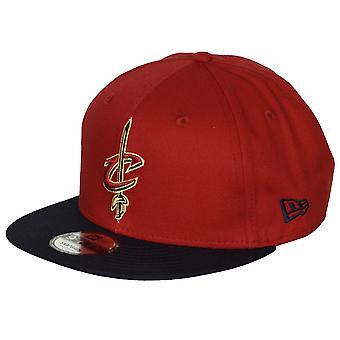 Nieuw tijdperk Contrast Team 9Fifty Snapback Cap ~ Cleveland Cavaliers