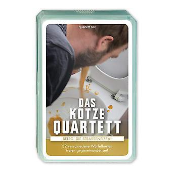 Quartet vomit Quartet card game cards vomited