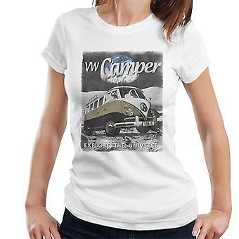 Official Volkswagen Moon Camper Women's T-Shirt