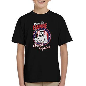 Originale Stormtrooper fare il grande impero ancora ragazzino s t-shirt