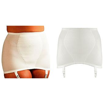 Silhouette Lingerie Control Shapewear Open Girdle with Garters