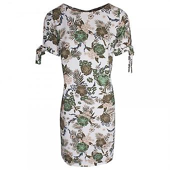 Betty Barclay Tropical Print Short Sleeve Jersey Dress