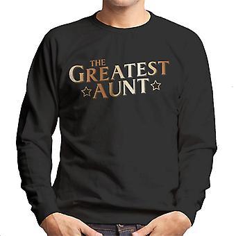 The Greatest Aunt Men's Sweatshirt