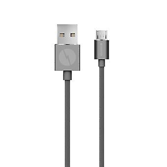 Campion micro-USB cablu premium gri 2m
