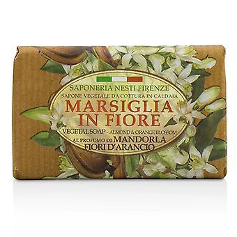 Nesti Dante Marsiglia i Fiore grønne såpe - Almond og Orange Bloosom - 125g/4.3 oz
