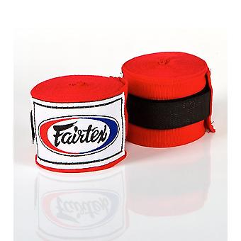 Fairtex en HW2 Hand Wraps röd