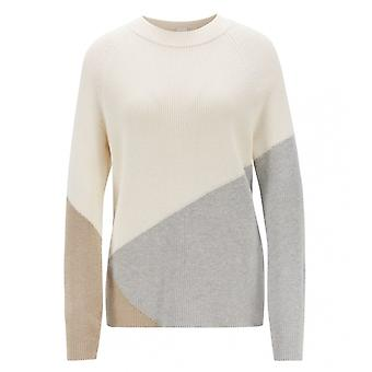 Boss Boss Waluna Relaxed Fit colore blocco Womens maglione