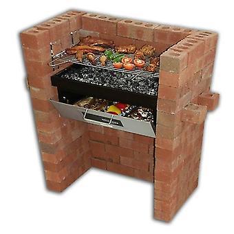 Alvenaria construir na churrasqueira e asse DIY