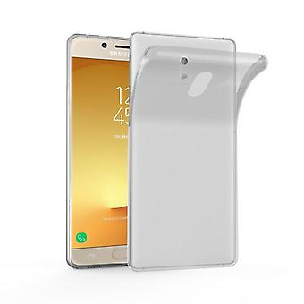 Custodia Cadorabo per Samsung Galaxy J3 2017 Case Cover - Custodia per cellulare in silicone TPU flessibile - Custodia protettiva in silicone Ultra Slim Soft Back Cover Case Bumper