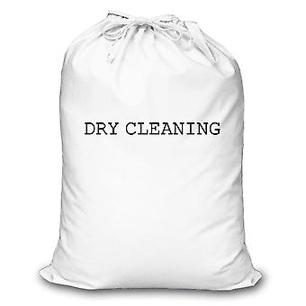 White Laundry Bag Dry Cleaning