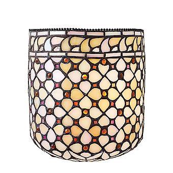 Mille Feux Tiffany stil vägg ljus - interiör 1900 64280