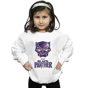 Marvel jenter Black Panther maske Logo Sweatshirt