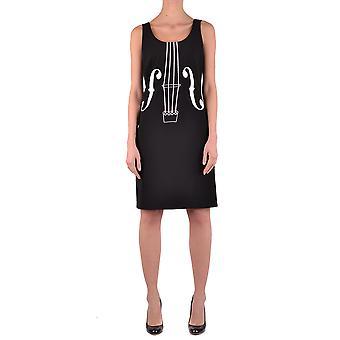 Moschino Ezbc015003 Women's Black Polyester Dress