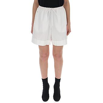 See By Chloé S19ush02020106 Women's White Cotton Shorts