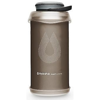 Hydrapak Stash butelka 1L - mamuta szary