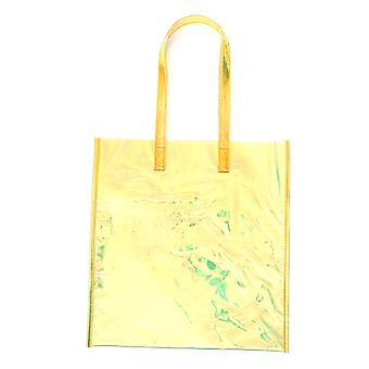Zucca Zu97ag30228 Women's Yellow Plastic Tote