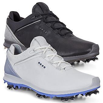 ECCO Womens G 2 vandtæt åndbar læder Golf sko
