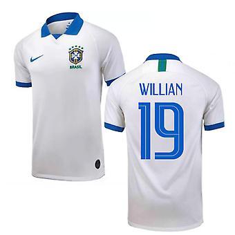 Brazil 1919 Anniversary Shirt (Kids) (Willian 19)
