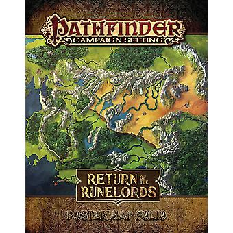 Return of the Runelords Poster Map Folio - Pathfinder Campaign Setting