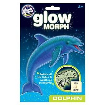 Glow In The Dark Morph Dolphin Stickers