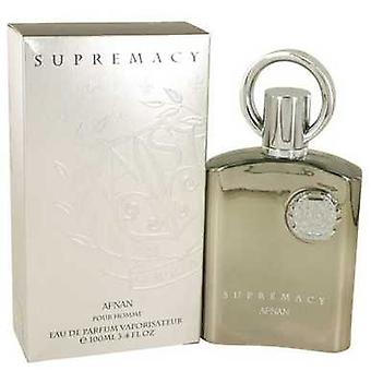 Supremacy Silver By Afnan Eau De Parfum Spray 3.4 Oz (men) V728-538121