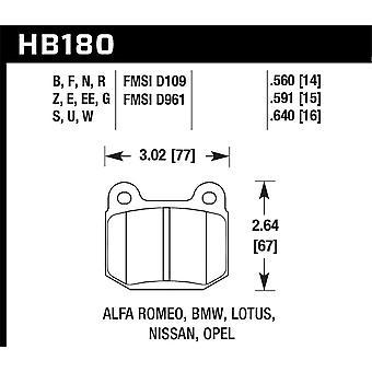Hawk Performance HB180N.560 HP Plus